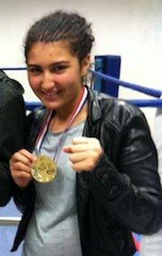 Myriam KABACHENE Championne de France 477046_305915422820234_100002053374577_749096_1278467122_o